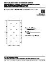 """Fastening Patterns for FA 1"""" H-Shield Premier"""