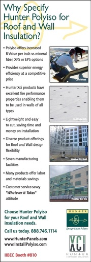 Roof and Wall RCI IIBEC Ad