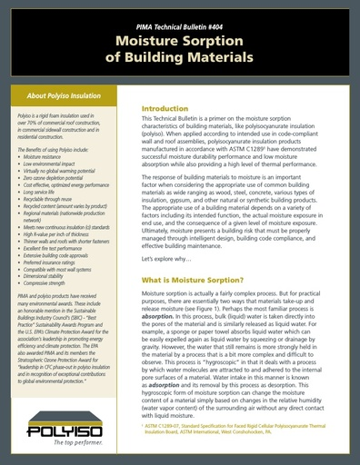 PIMA Technical Bulletin 404