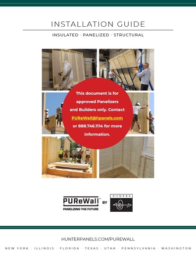 PUReWall™ Installation Guide