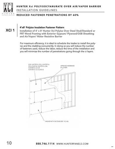 How to Reduce Fastener Penetrations