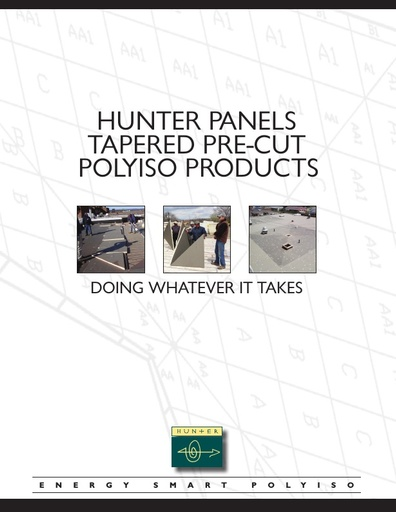 Tapered Pre-cut Polyiso Products Brochure