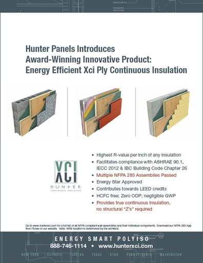 Hunter Xci Innovative Products