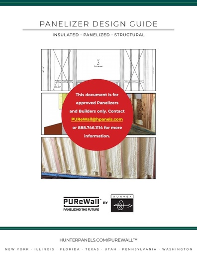 PUReWall™ Panelizer Design Guide