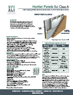 Hunter Xci Foil (Class A) Submittal Document