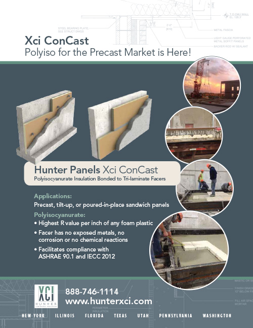 Hunter Xci Concrete Advert