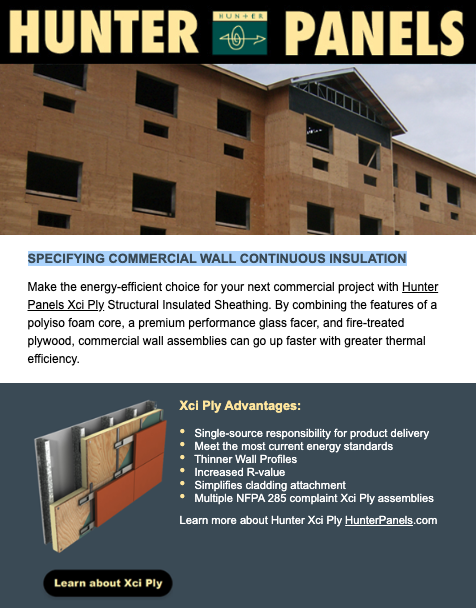 Specifying Commercial Wall Continuous Insulation